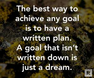 written plan